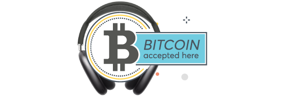 Buy AirPods Max with Bitcoin